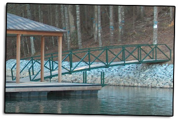Carolina Dock - Powder Coating